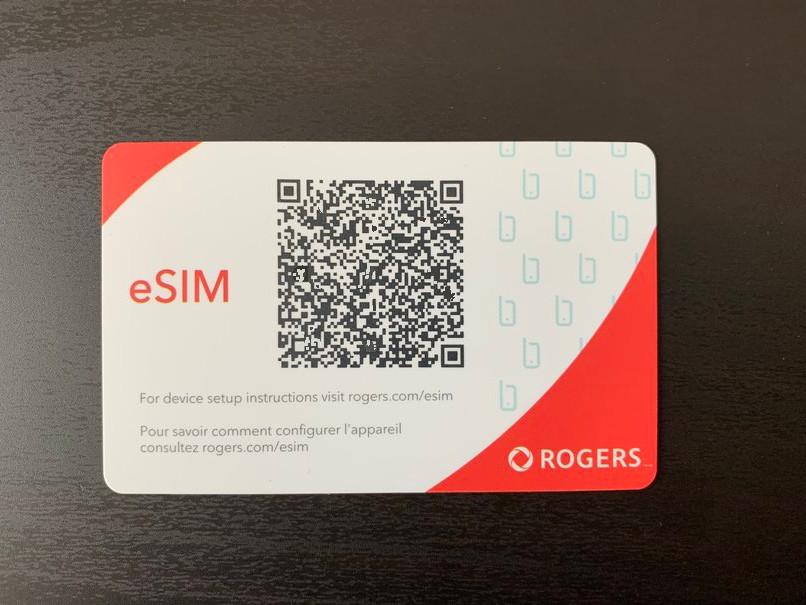 Rogers eSIM