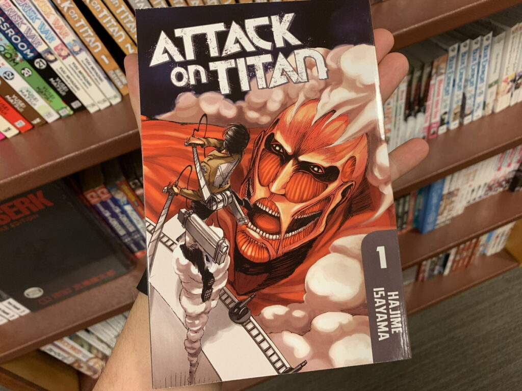 ATTACK ON TITAN 表紙