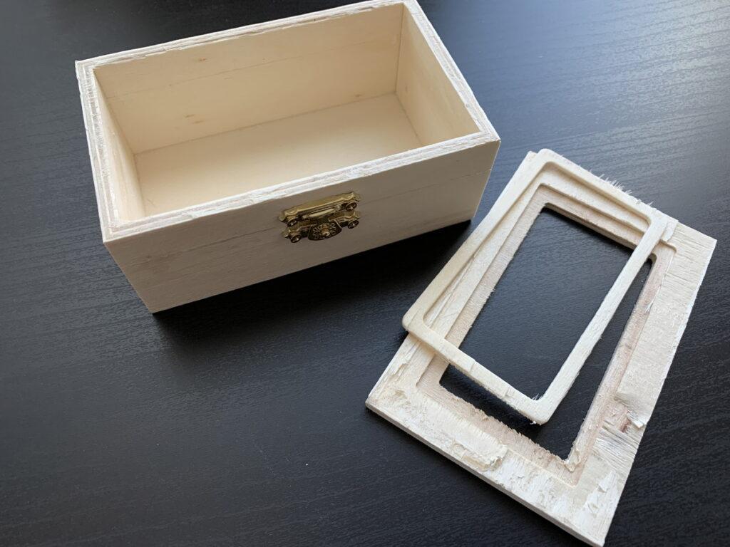木箱を分解