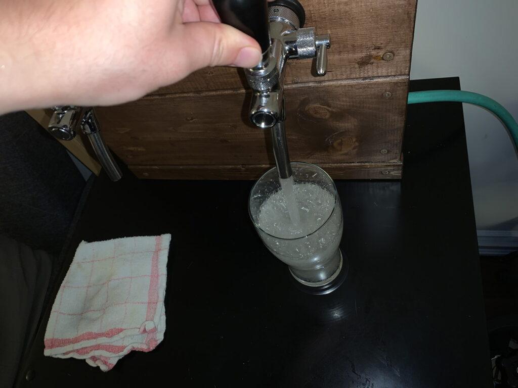 炭酸水サーバー完成!