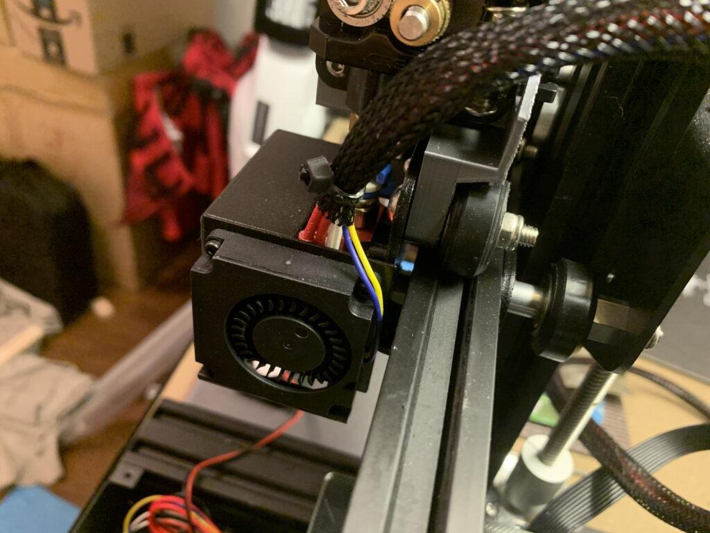 Ender3 印刷ヘッド部