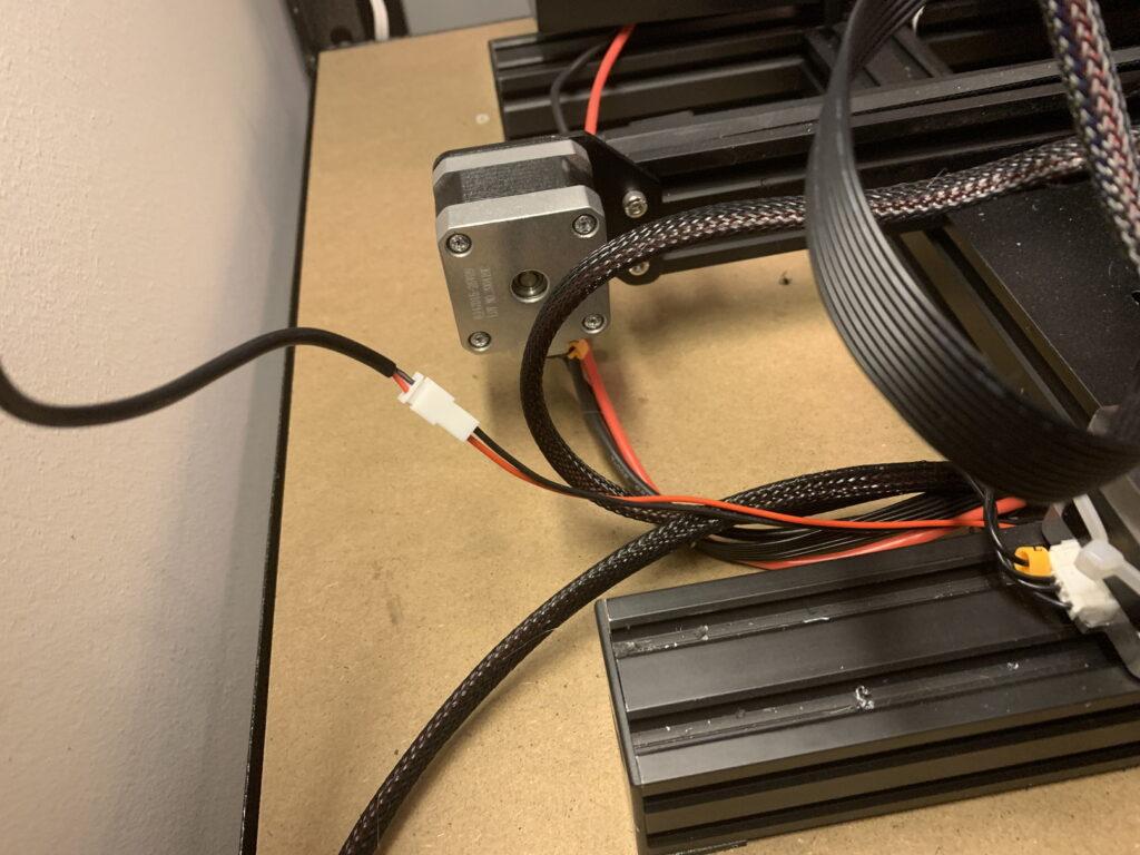レーザーモジュール配線接続方法
