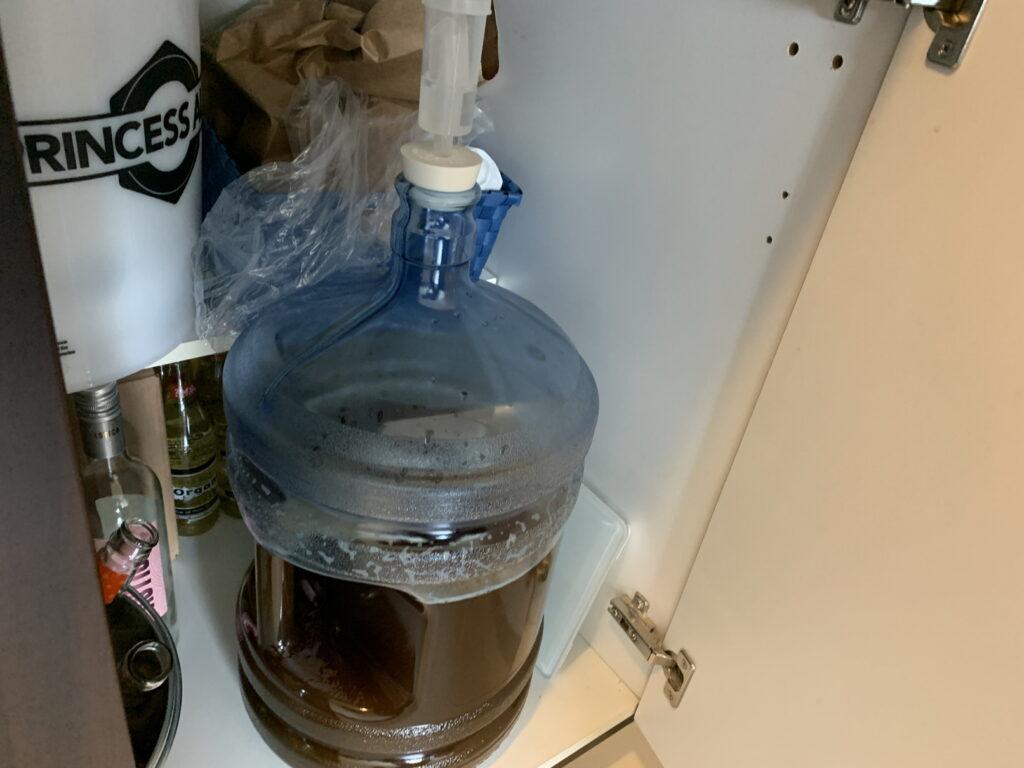 ビール発酵中