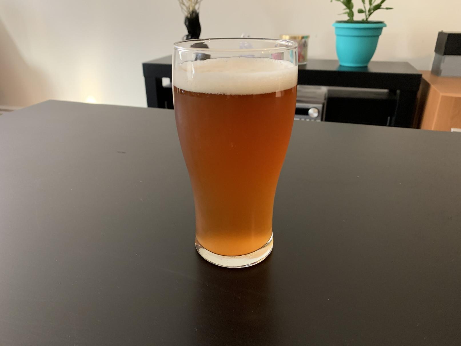 ドライモルトで作ったビール